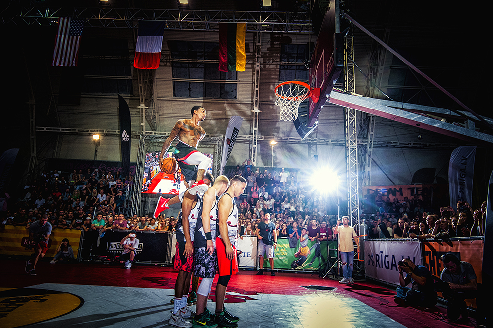 Slam Dunk Contest Riga 2018